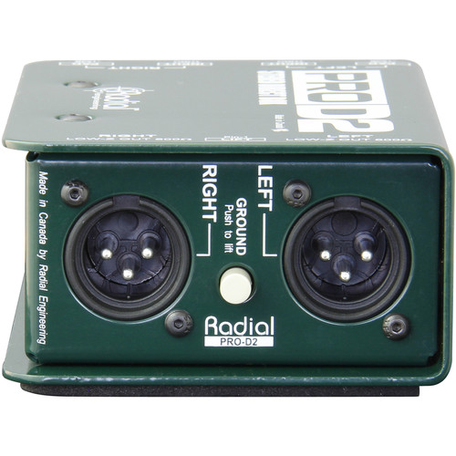 RADIAL ENGINEERING PRO D2 4