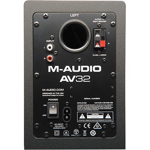 M-AUDIO AV32 3