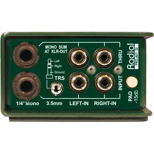 RADIAL ENGINEERING PROAV1 2