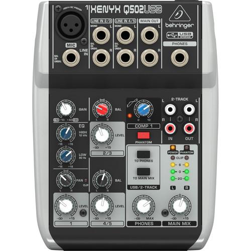 Behringer XENYX Q502USB 1