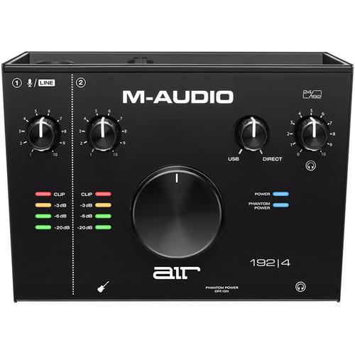 M-Audio Air 192 4 Interface de audio Vocal Studio 5