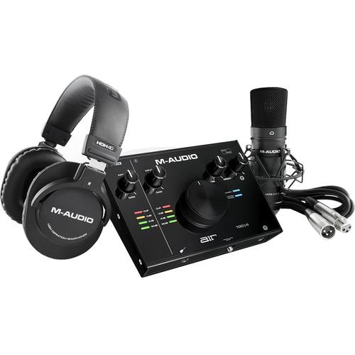 M-Audio Air 192 4 Interfaz de audio Vocal Studio 1