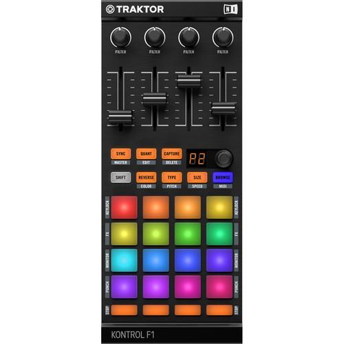 Controlador de DJ TRAKTOR KONTROL F1 1