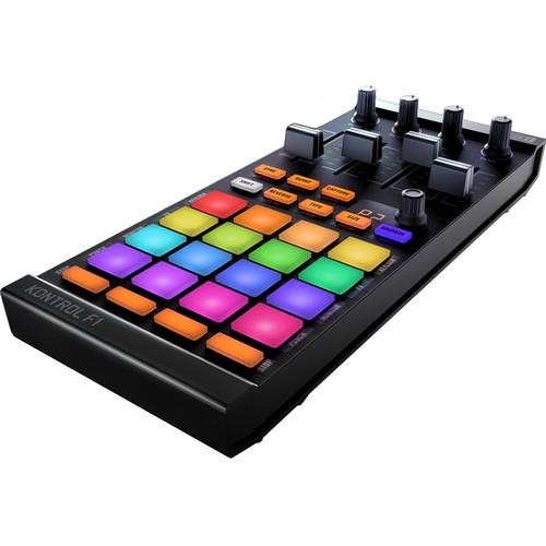 Controlador de DJ TRAKTOR KONTROL F1 2