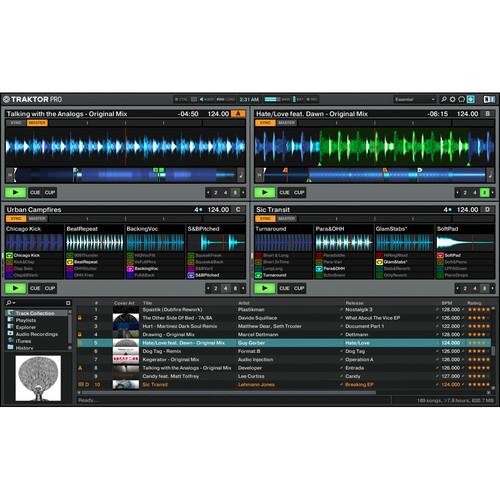 Controlador de DJ TRAKTOR KONTROL F1 3