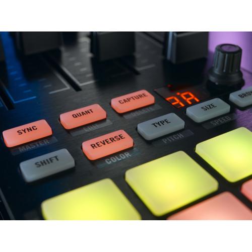 Controlador de DJ TRAKTOR KONTROL F1 4